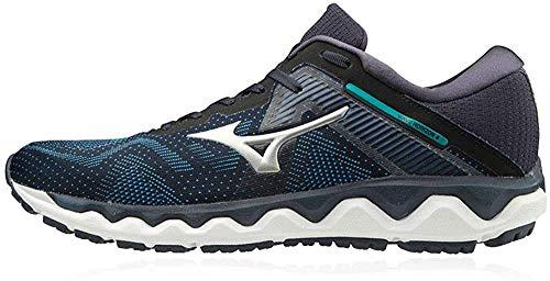 Mizuno Wave Horizon 4 Mens Running Shoes - Blue-8.5