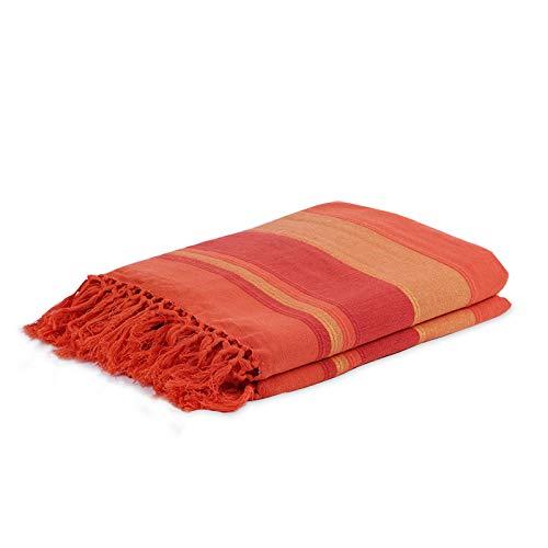 Homevibes Mehrzweck-Decke mit Fransen, Decke für...