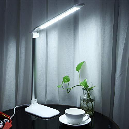 Lámpara LED de ahorro de energía con cable USB para lectura que cuida la vista para dormitorios