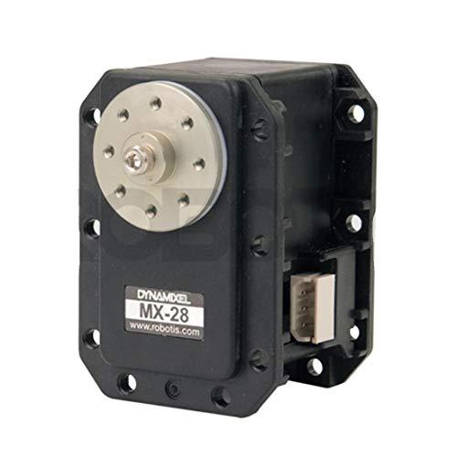 Dynamixel MX-28T Robot Servo Roboter mit integriertem DC-Motor PID Regelung 360° Positionierung Untersetzungsgetriebe mit Treiber, Netzwerk, DC-Servomodul