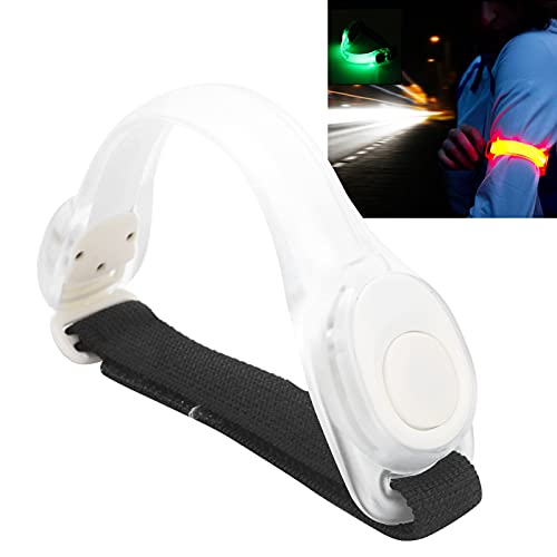 jadenzhou Pulsera Intermitente, Pulsera LED Colorida Que Mejora la Visibilidad y la Seguridad para la protección Deportiva para la Aptitud para el Entrenamiento Muscular para Deportes al Aire Libre