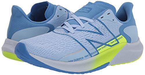 New Balance Women's Propel V2 FuelCell Running Shoe, Blue/Green, 3.5 UK