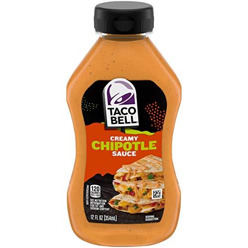 Taco Bell Mexican Taco Bell Chipotle Creamy Sauce, 12oz, 12 ounce