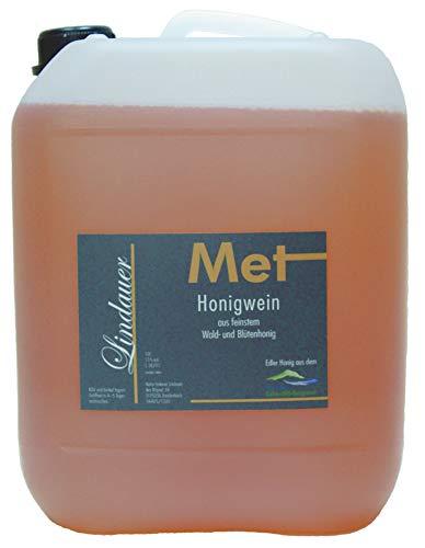 Original Lindauer MET - Honigwein lieblich, 1 Jahr gereift, 10 Liter Kanister, 11% vol.