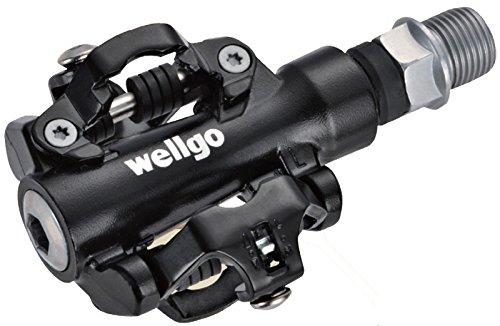 Wellgo M094B - Pédale de roulement étanche SPD 9/16\