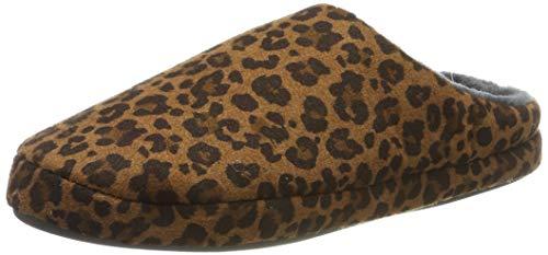s.Oliver Damen 5-5-27101-33 Pantoffeln, Braun (Brown Leo 396), 39 EU