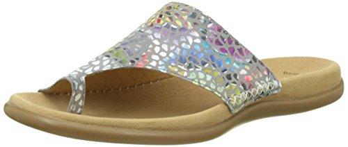 Gabor Shoes Damen Fashion Pantoletten, Grau (Stone 49), 40 EU