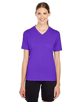 TEAM 365 Women s Zone Performance T-Shirt Sport Purple XXX-Large