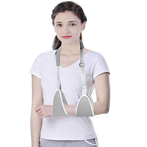 Filfeel Armschlinge, Arm Riemen justierbarer Unterarm-Schulter-Arm-Stützgurt Swathe-Klammer verstärkte Wegfahrsperre gebrochener Unterarm