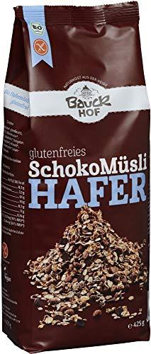 Bauckhof Bio Glutenfreies Hafermüsli Schoko (6 x 425 gr)
