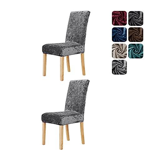 Deconovo Velvet Chair Covers