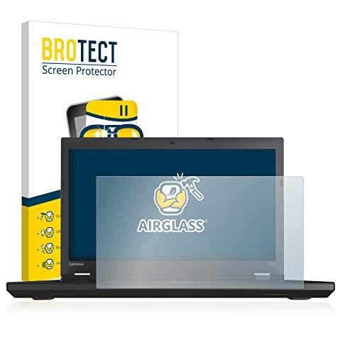 BROTECT Panzerglas Schutzfolie kompatibel mit Lenovo ThinkPad L570 - AirGlass, extrem Kratzfest, Anti-Fingerprint, Ultra-transparent