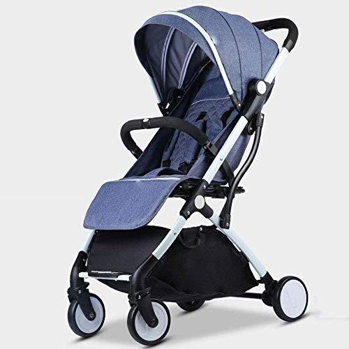Landaus Convertible bébé Poussette Transport, Multifonction Portable Poussette légère Voyage Poussette, Shopping Fournitures pour bébé