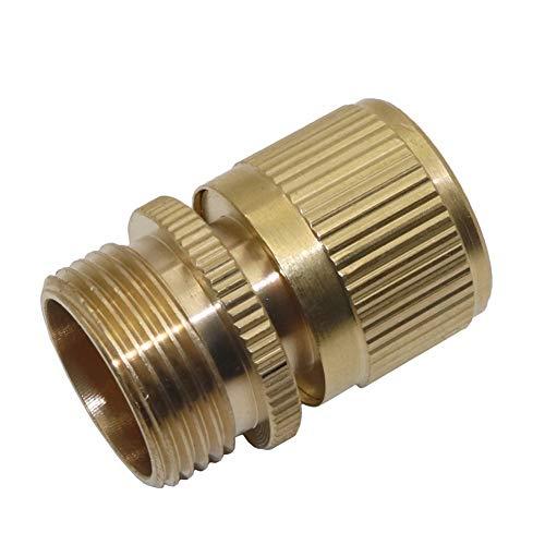 XINXI-YW Conveniente 5 Piezas de 3/4 de Pulgada de Rosca Macho del Conector rápido Jardín Conector Conector de la Manguera de Agua de Lavado de Coches Accesorios de tubería Decorativo