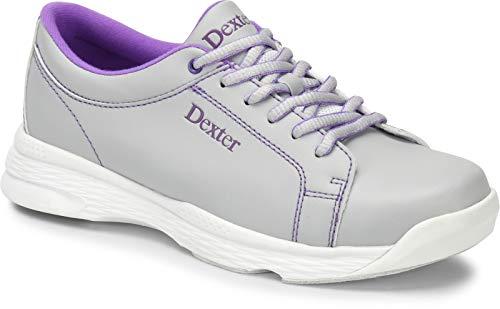 Dexter - Zapatos de Bolera para Mujer, Desde Principiantes hasta Profesionales, para diestros y Zurdos, Incluye Bolsa para Zapatos, Color, Talla 39.5 EU