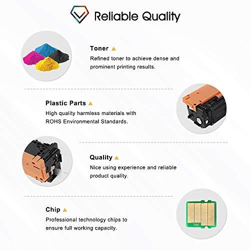 Cool Toner Compatible Toner Cartridge Replacement for HP 410X CF410X CF411X CF412X CF413X 410A CF410A M477FDW for HP Laserjet Pro MFP M477fdw M477fnw M477fdn Pro M452dn M452dw M452nw Toner Ink Printer Photo #2