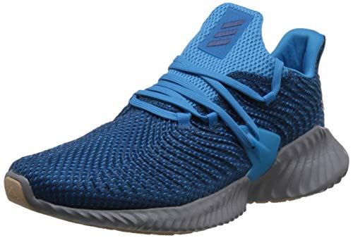adidas Men's Alphabounce Instinct M Running Shoes, Blue (Legend Marine/Shock Cyan), 7.5 UK