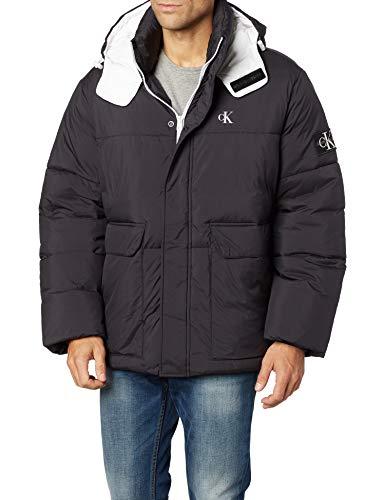 Calvin Klein MW Hooded Puffer Jacket Chaqueta para Mujer