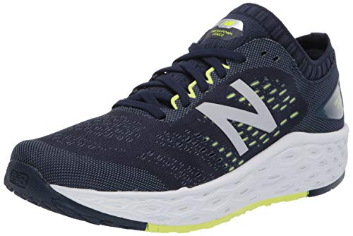 New Balance Men's Fresh Foam Vongo V4 Running Shoe, Natural Indigo/Lemon Slush, 12.5 W US