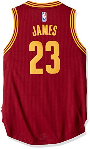 Outerstuff Youth Boys NBA Player Swingman Jersey-Road Cleveland Cavaliers-Lebron James, Youth Medium (10-12)