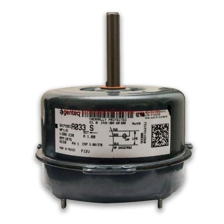 OEM Upgraded GE Genteq 1/6 HP 230v Condenser Fan Motor 5KCP39BGP870S