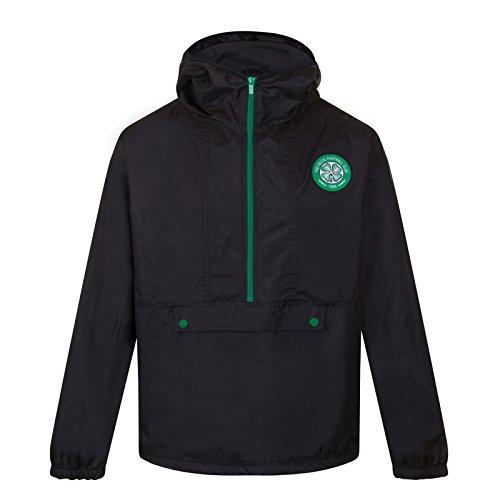 Celtic FC Official Gift Boys Half Zip Shower Jacket Windbreaker 10-11 Years