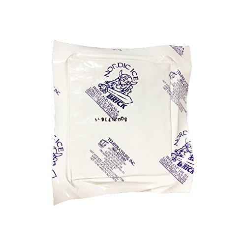 Nordic Ice NOR1080 15 oz. Reusable, Long-Lasting Freeze Brick Foam (Pack of 6)