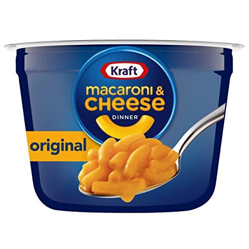 Kraft Easy Mac Original Flavor Macaroni and Cheese 10 Microwavable Cups