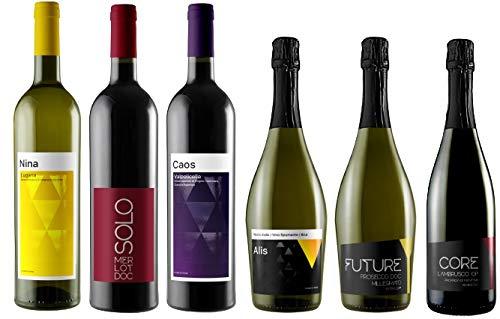 Box di 6 Bottiglie Assaggio di Tutti i Vini FUTURE MY WINES
