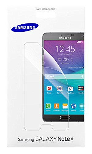 Samsung Displayschutzfolie Screen Protector Kristallklar für Samsung Galaxy Note 4, transparent