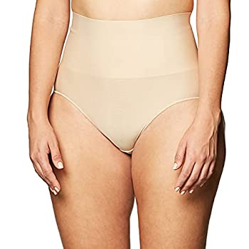 Maidenform womens Tame Your Tummy Shaping Lace With Cool Comfort Dm0051 Shapewear Briefs Transparent Small US