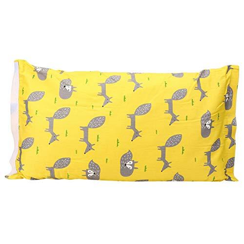 Almohada de lactancia y lactancia Almohada multifunción para viajes para bebés(Yellow little fox)
