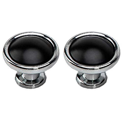2 piezas Manija de puerta de gabinete Perillas de gabinete Manijas de aleación de zinc Manijas de gabinete Tiradores de armario para cocina Dormitorio Tiradores de armario Tiradores de cajón Perillas