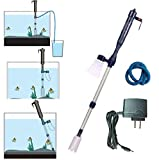 LONDAFISH Electric Fish Tank Vacuum Cleaner Syphon Operated Gravel Water Filter Cleaner S