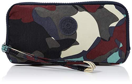 Kipling - Zora, Carteras Mujer, Multicolor (Camo Large), 19x9.5x1.5 cm (B x H T)