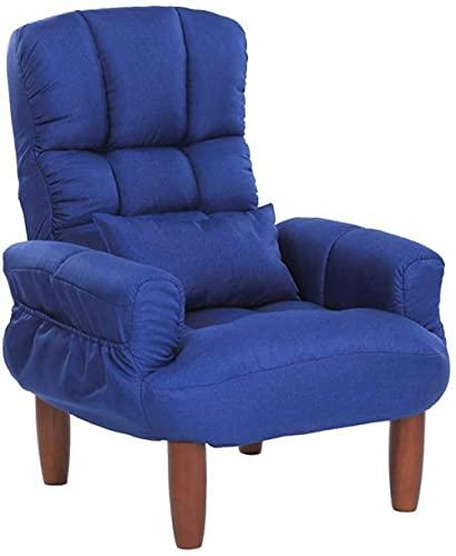 Sillón reclinable, sillón ajustable, silla de comedor, sillón acolchado, silla de ocio, silla relajante, silla de juegos, para casa, oficina, sillón reclinable