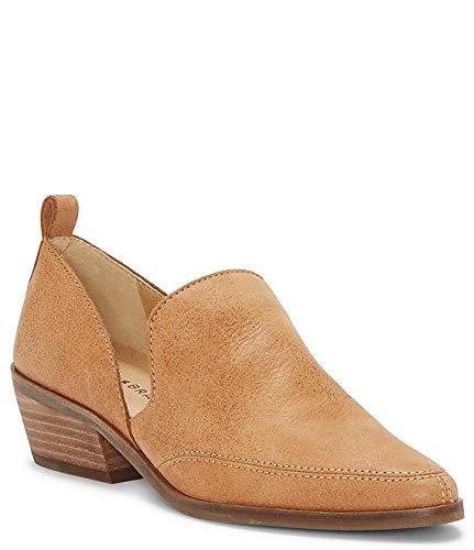 [ラッキーブランド] シューズ 25.0 cm スリッポン・ローファー Mahzan Leather Side Slit Pointed Toe Loa Tan レディース [並行輸入品]