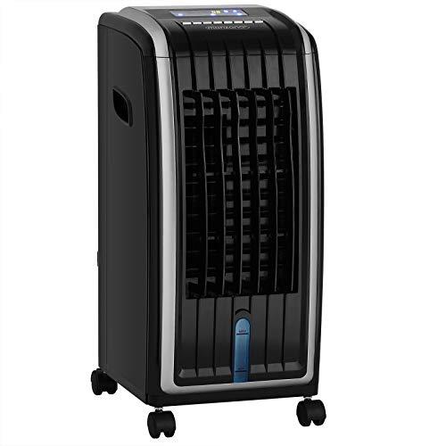 Monzana Climatizador móvil 4en1 7L enfriador de aire ventilador ionizador y humidificador de aire 75V con temporizador