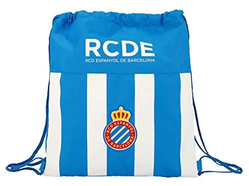 Safta R.C.D. Vlakke slaapzak Espanyol Officiële zak, plat, groot, 350 x 400 mm
