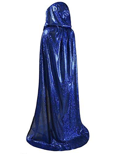 Disfraz de bruja de vampiro de bruja gtico, medieval, disfraz de Halloween, disfraz con capucha, talla XL