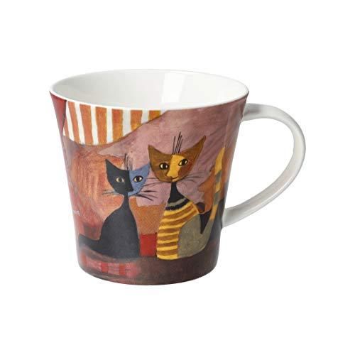 Goebel Rouge - Coffee-/Tea Mug Tasse Rosina Wachtmeister Katzen NEUHEIT 2020