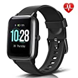 Best Monitors With Calorie Counters - LETSCOM Fitness Tracker with Heart Rate Monitor, Smart Review