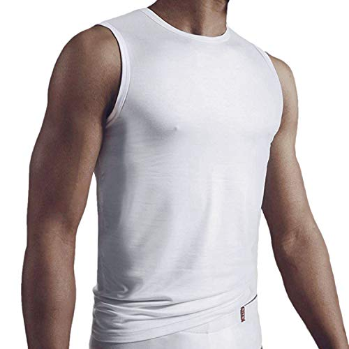 CiTO - Micromodal - Cityshirt Unterhemd - 3er Pack (8 Weiß)