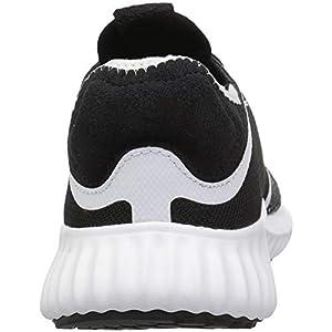 adidas Women's Run Lux Clima Shoe, Black/White/White, 8.5 M US