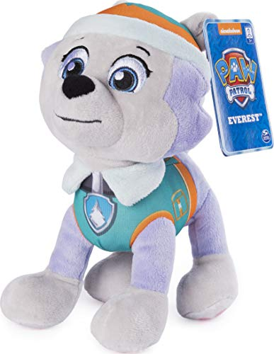 Paw Patrol, 8' Everest Plush Toy, Standing Plush with Stitched Detailing, for Ages 3 & Up