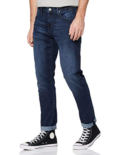 Mavi Herren James Jeans, Blau (Deep Brushed Ultra Move 24936), W32/L30