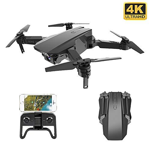 RC Mini Faltbare Drohne, 4K HD-Kamera mit WiFi FPV Selfie Optischer Durchfluss Stabiler Höhenflug Fly Quadcopter RC Hubschrauberspielzeug mit Hochhaltemodus, Fotos mit Gesten aufnehmen