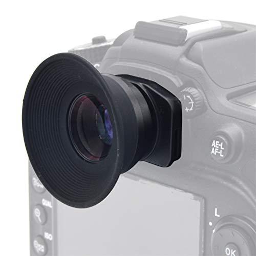 jfhrfged 1.51X Sucher mit festem Fokus Okular Lupe für Canon für Nikon für Sony für Pentax für Olympus für Fujifilm für Sigma für Minoltaz DSLR-Kamera