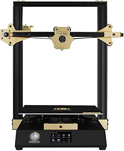 RSBCSHI 3D Printer, Auto Leveling Large FDM 3D Printer Resume Printing Function 3.5 Inch Touchscreen Support PLA, ABS, PETG Print Size 300 * 300 * 400Mm