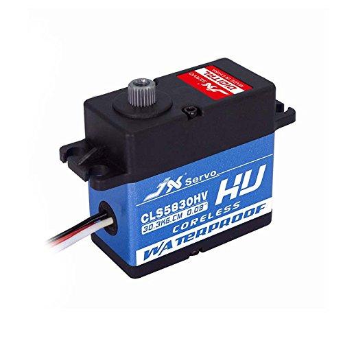 JX Servo CLS-5830HV Standard Digital Servo, High-Speed, Mega-Torque,Waterproof